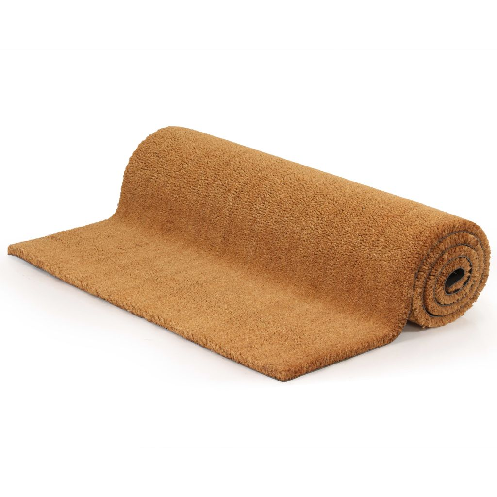 Doormat Coir 17 mm 80x100 cm Natural