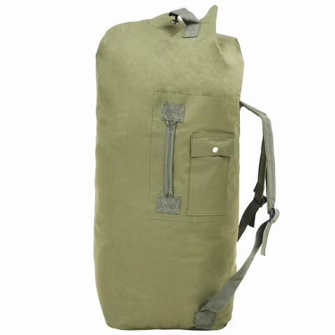 Army-Style Duffel Bag 85 L Olive Green