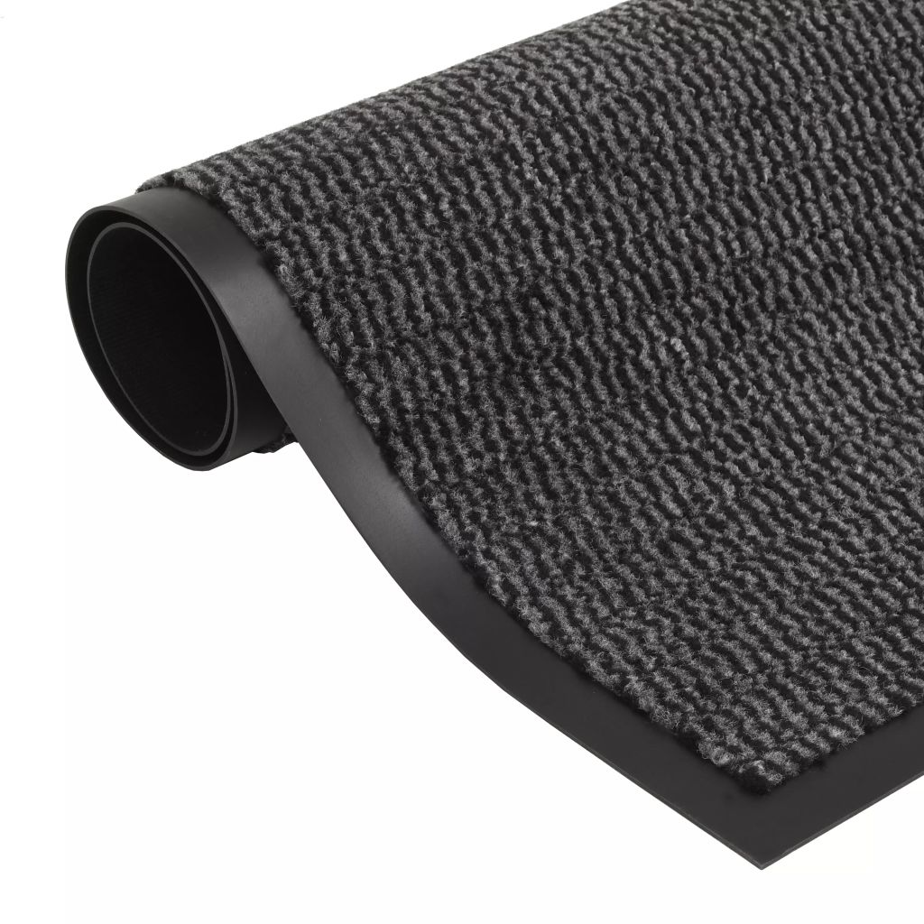 Dust Control Mat Rectangular Tufted 90x150 cm Anthracite