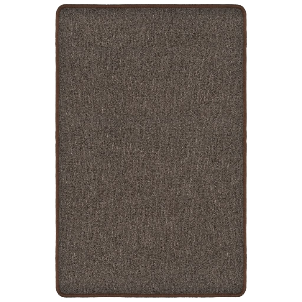 Rug Tufted 120x180 cm Brown