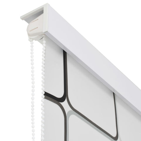 Shower Roller Blind 120x240 cm Square