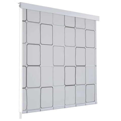 Shower Roller Blind 180x240 cm Square