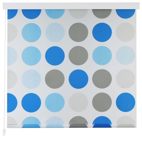 Shower Roller Blind 80x240 cm Circle