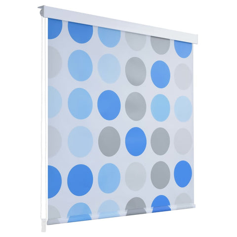 Shower Roller Blind 100x240 cm Circle