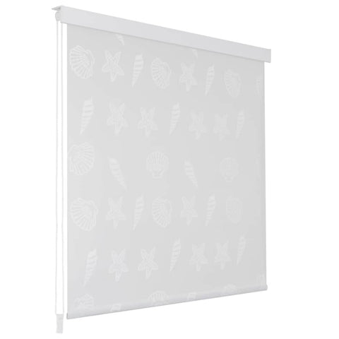 Shower Roller Blind 100x240 cm Sea Star