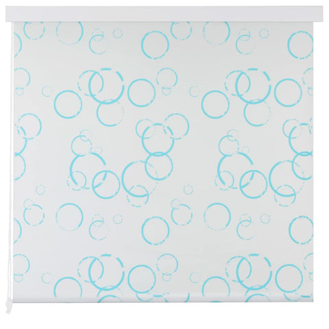 Shower Roller Blind 80x240 cm Bubble