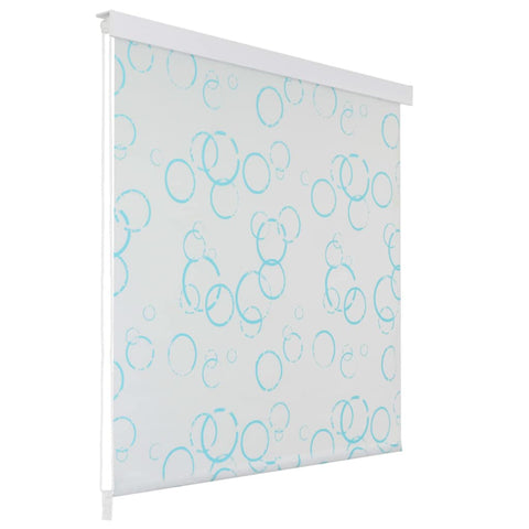Shower Roller Blind 100x240 cm Bubble