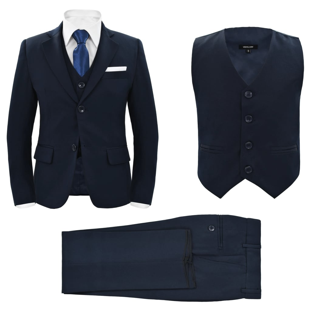 Children's 3 Piece Dinner Suit Size 116/122 Navy
