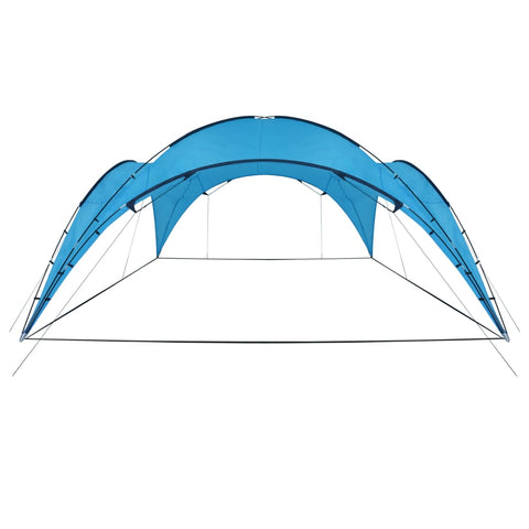 Party Tent Arch 450x450x265 cm Light Blue