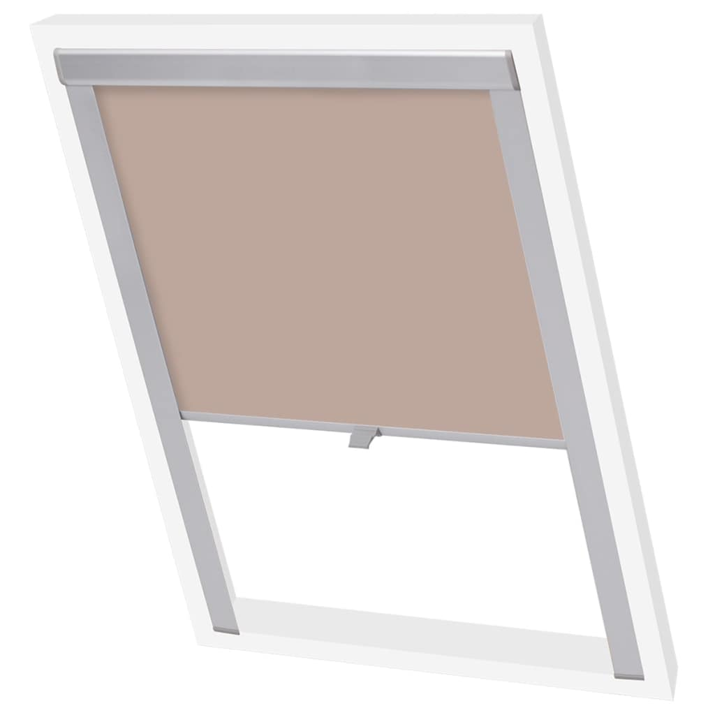 Blackout Roller Blind Beige MK04