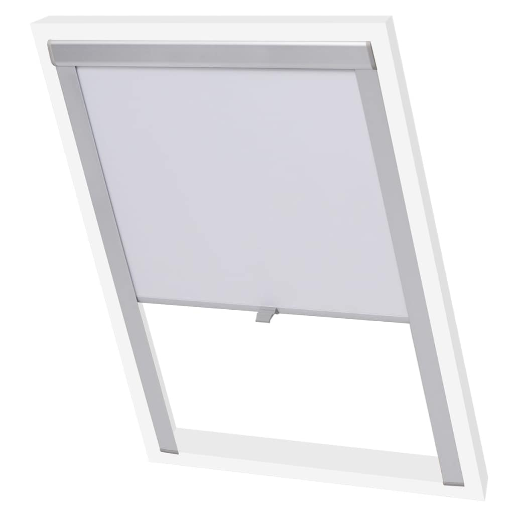 Blackout Roller Blind White PK06