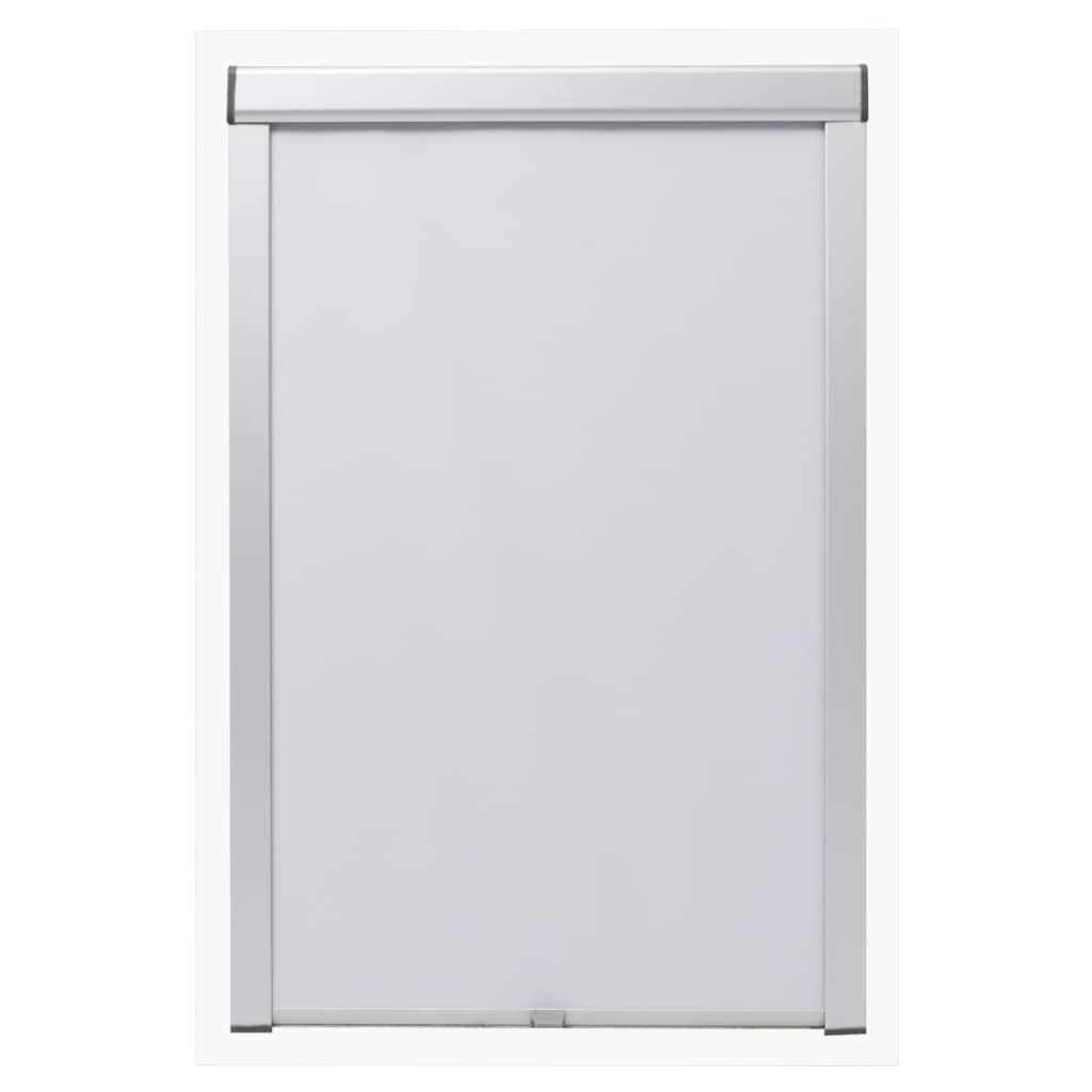 Blackout Roller Blind White PK08
