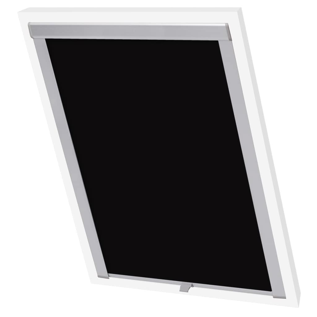 Blackout Roller Blind Black SK06