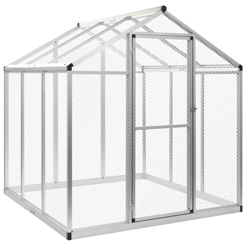 Outdoor Aviary Aluminium 183x178x194 cm