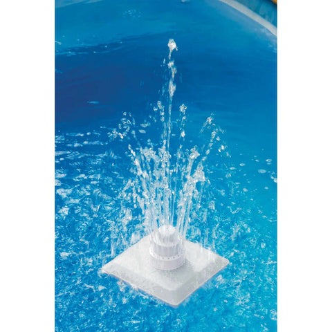 13 Piece Pool Grecian Fountain White