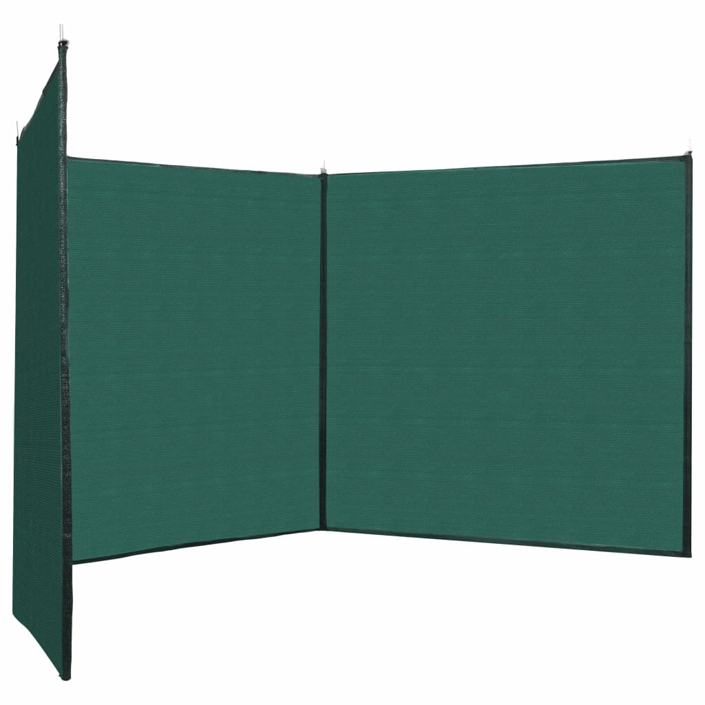 Fence Windscreen HDPE 150x450 cm Green