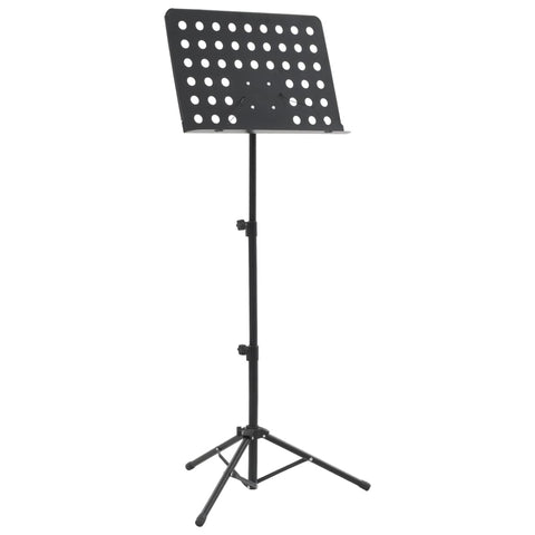 Music Book Stand Black Steel
