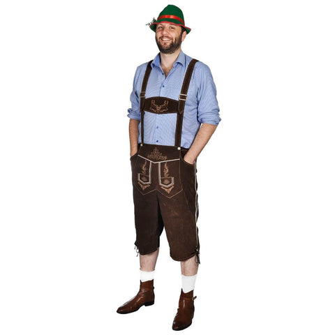 Lederhosen Size L With Hat For Oktoberfest