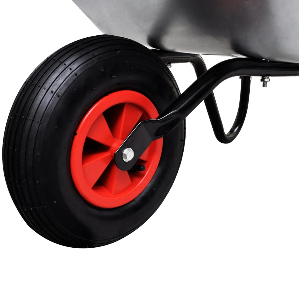 Gardening Tool Wheelbarrow Single Wheel 80 L