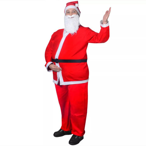 Santa Claus Christmas Costume Suits Set