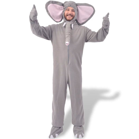 Carnival Costume Elephant Grey XL-XXL