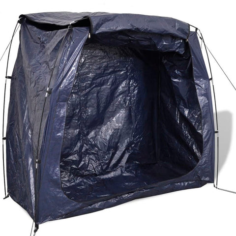 Bike Storage Tent 200x80x150 cm Blue