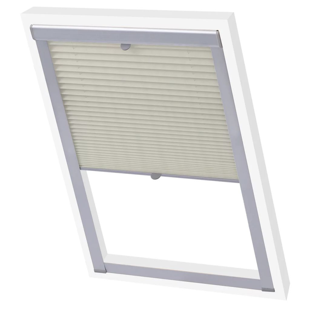 Pleated Blinds Cream 206