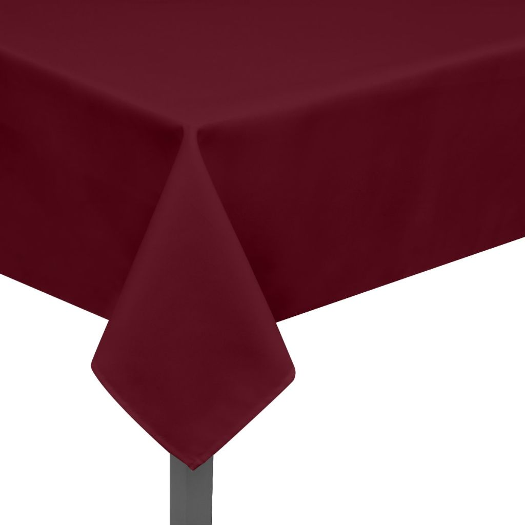 Tablecloths 5 pcs Burgundy 100x100 cm