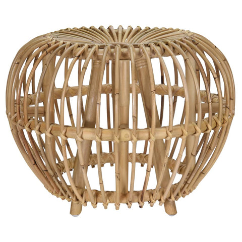 Home&Styling Kubu Stool Brussel Rattan Natural