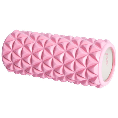 Pure2Improve Yoga Roller 33x14 cm Pink and White