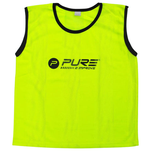 Pure2Improve Training Bibs 4 pcs Mini Yellow