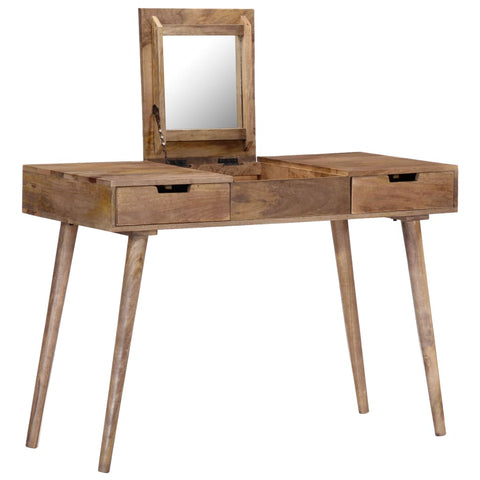 Dressing Table 112x45x76 cm Solid Mango Wood
