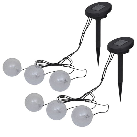 Floating Lamps 6 pcs LED for Pond and Pool