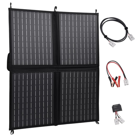 Foldable Solar Panel Charger 80 W 12 V