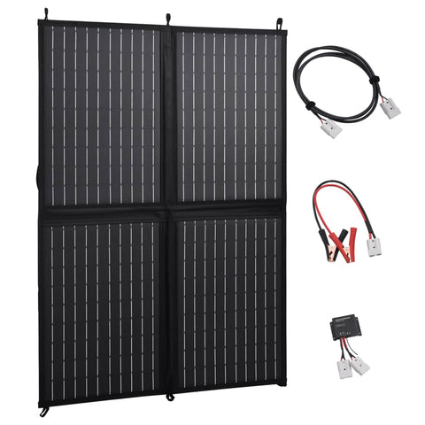 Foldable Solar Panel Charger 100 W 12 V