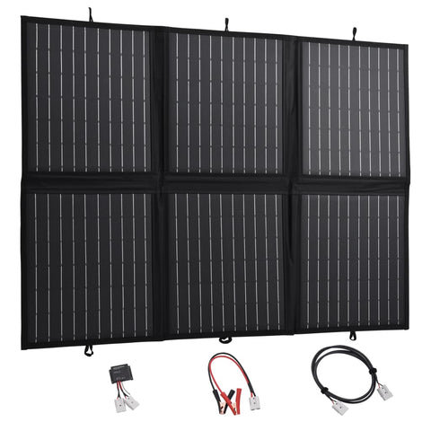 Foldable Solar Panel Charger 120 W 12 V
