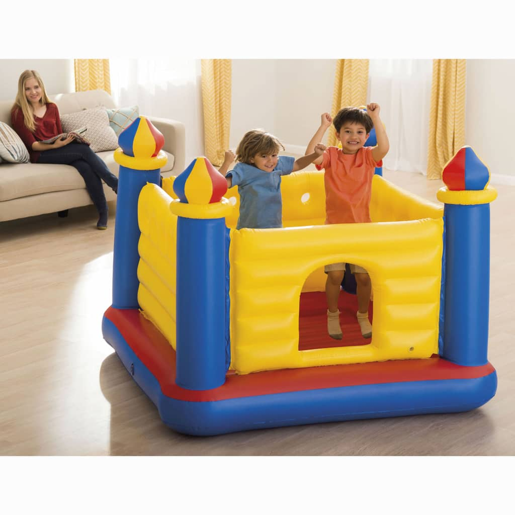 Intex Kids Inflatable Bouncer Jump-O-Lene Castle PVC