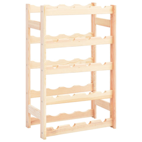 Wine Rack for 20 Bottles Pinewood