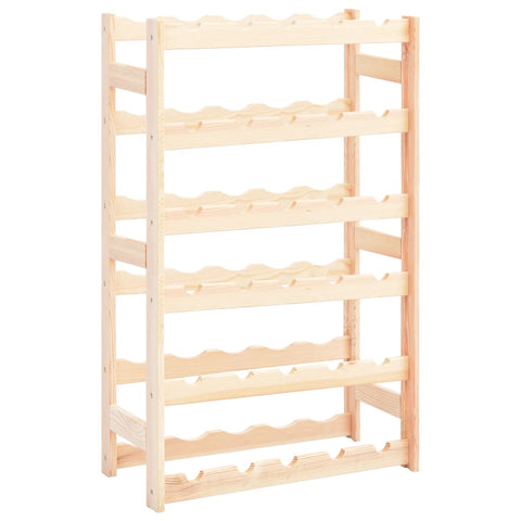 Wine Rack for 30 Bottles Pinewood