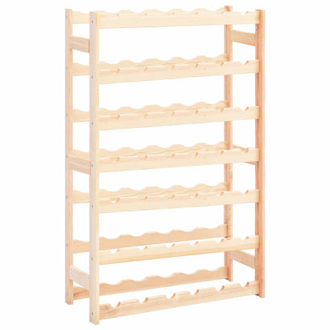 Wine Rack for 42 Bottles Pinewood