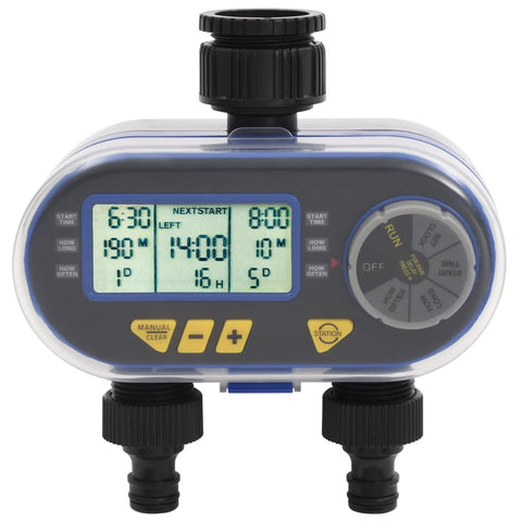 Automatic Digital Water Timer with Dual Outlet