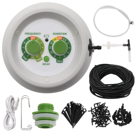 Automatic Indoor Drip Watering Kit with Controller