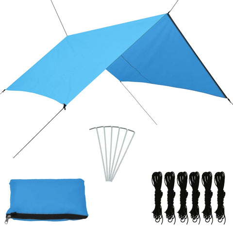 Outdoor Tarp 3x2.85 m Blue
