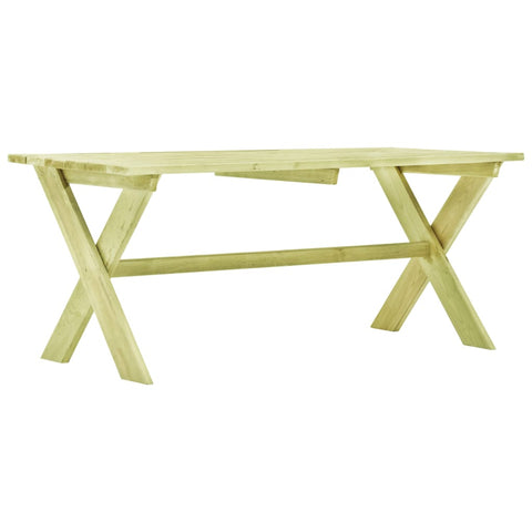Garden Table 170x73x70 cm Impregnated Pinewood