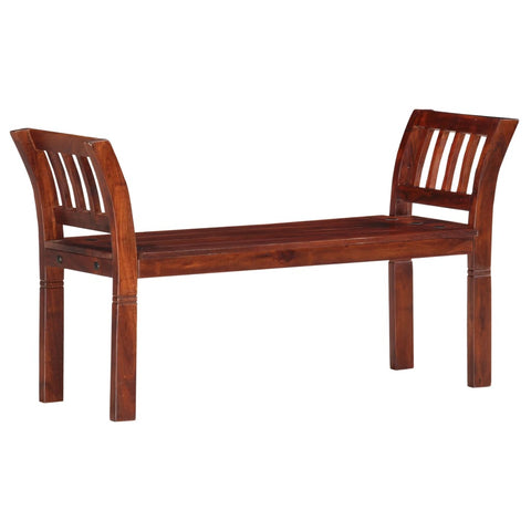 Bench 111 cm Solid Acacia Wood