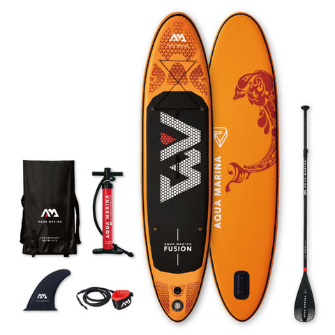 Aqua Marina SUP Board Fusion Orange 315x76x15 cm