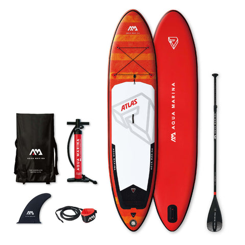 Aqua Marina SUP Board Atlas Red 366x84x15 cm