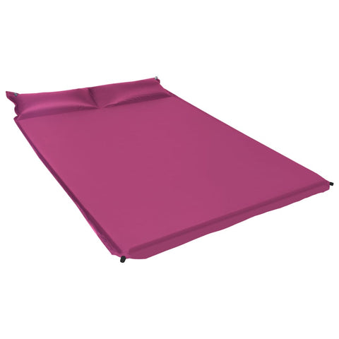 Inflatable Air Mattress with Pillow 130x190 cm Pink