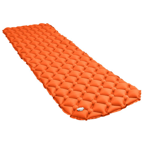 Inflatable Air Mattress 58x190 cm Orange