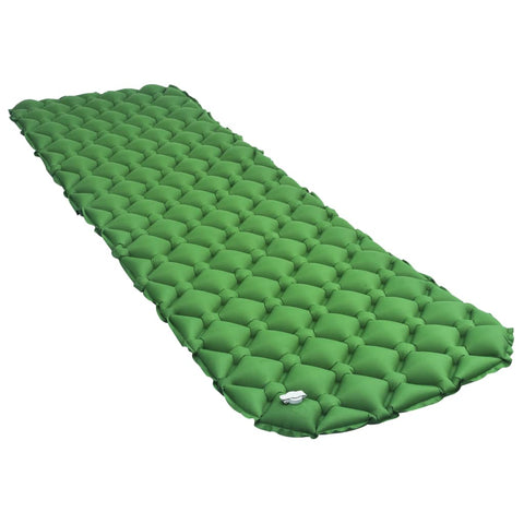 Inflatable Air Mattress 58x190 cm Green